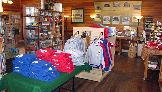 Interior of the Country Store at Frying Pan