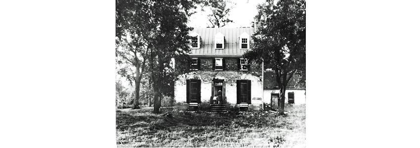 Green Spring's Historic House in the early 1900s