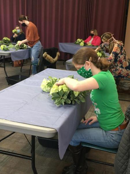 Chase the Winter Blues Away with Floral Workshops at Green Spring