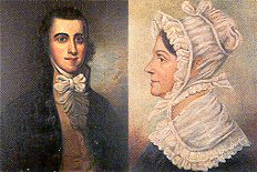 Richard Bland Lee and Elizabeth Collins Lee
