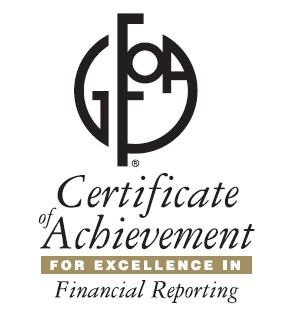 Park Authority Honored for Excellence in Financial Reporting