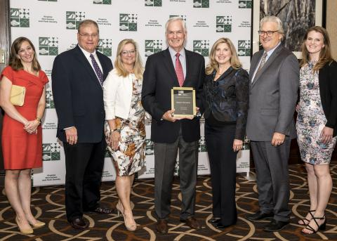 Park Foundation Board Director Emeritus Receives State Volunteer Award