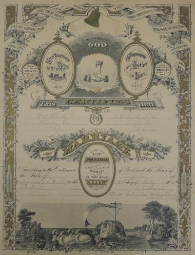 Clark Marriage Certificate