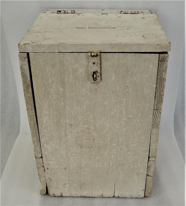 Old-Fashioned Ballot Box Reflects How Times Have Changed on Election Day
