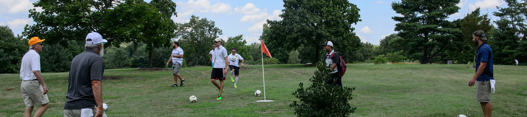 Footgolf Group Photo