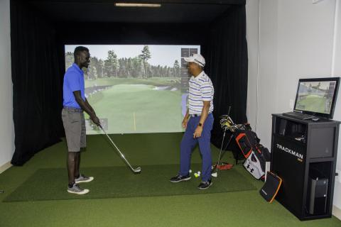Renovated Valis Golf Training Center to Open; Donors Honored