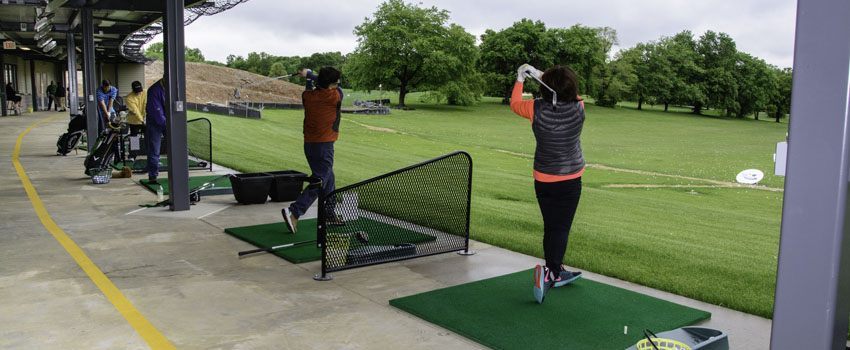 Burke Lake Golf Driving Range Lower Level