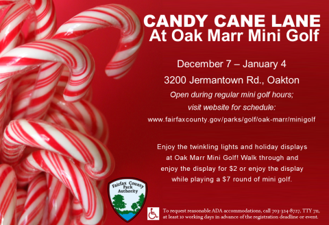 Put a Candy Cane Twist on your Miniature Golf Game
