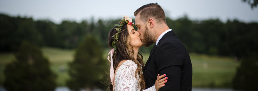 Twin Lakes Wedding Couple