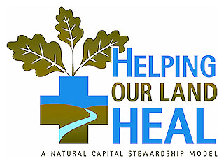 Helping Our Land Heal logo