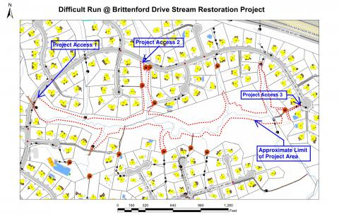 Difficult Run Tributary Stream Restoration to Impact Trail Access