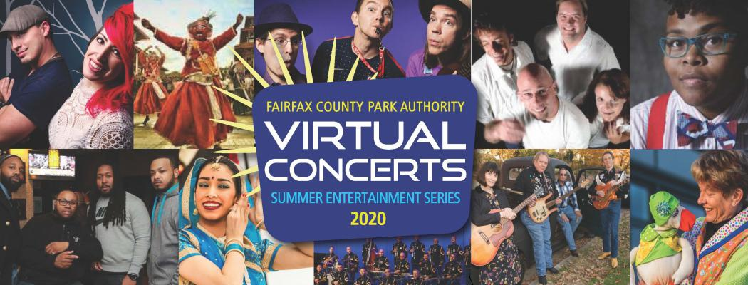 FCPA Virtual Concerts Summer Entertainment Series 2020