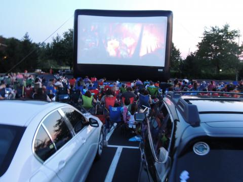Load up the Family for a Drive-In Movie Night this Summer
