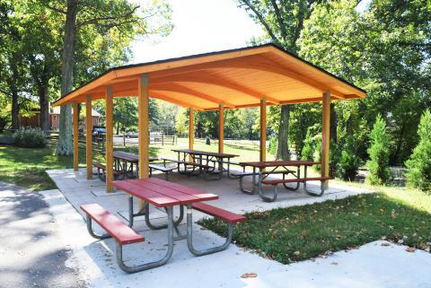 Great Falls Grange Park Reservable Areas Park Authority