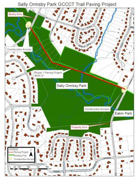 Sally Ormsby Trail Maintenance Project to Start | Park Authority