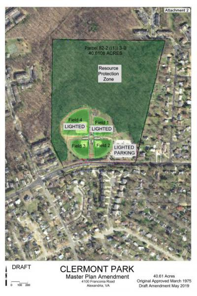 Master Plan Revision Process for Clermont Park To Begin