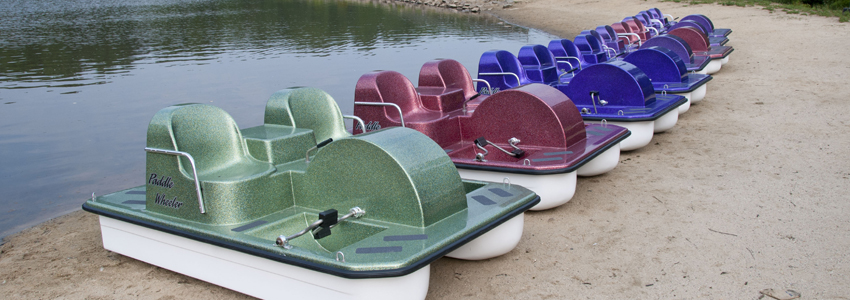 Paddle Boats at Lake Accotink