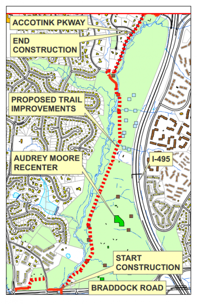 Gerry Connolly Cross County Trail Improvements to Begin