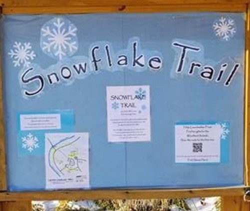 Snowflake Trail Brings Outdoor Fun to Cub Run RECenter