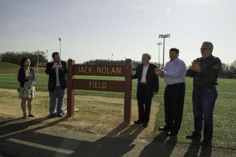 Springfield Athletic Field Renamed in Honor of Longtime Soccer Coach