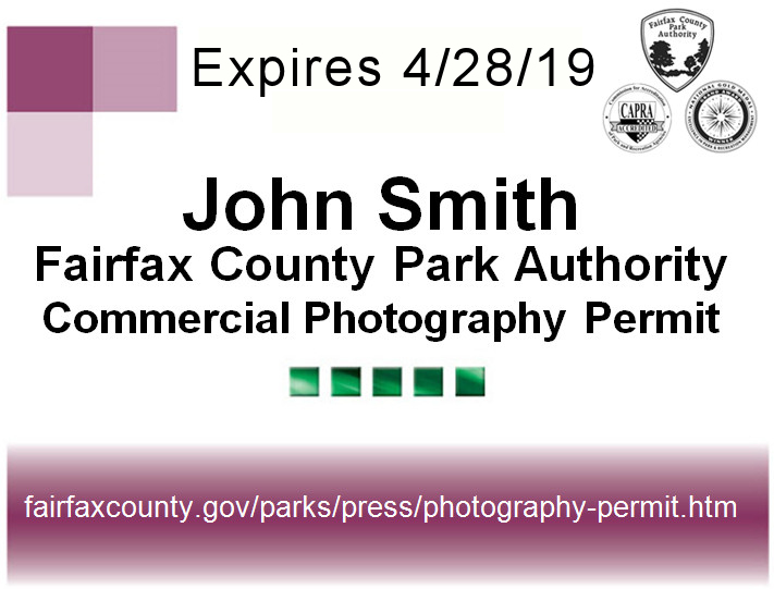 Commercial Photography Permit