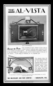 antique camera ad