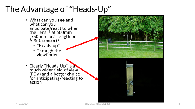 the advantage of heads-up