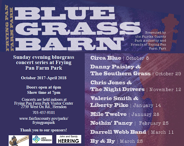 Bluegrass Barn flyer