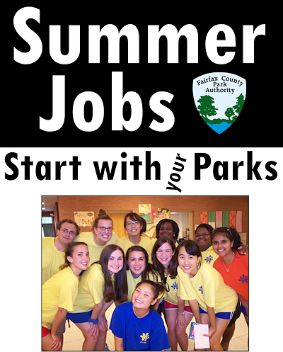 Summmer Jobs Start with Your Parks