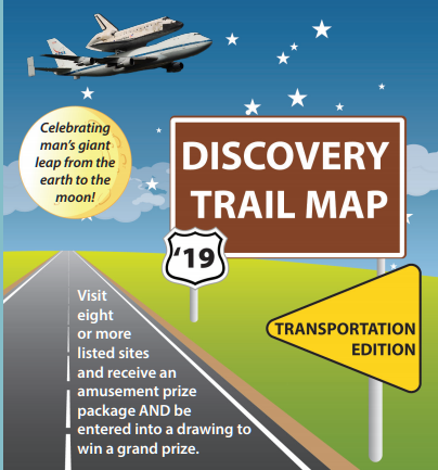 2019 Discovery Trail Map Commemorates Transportation History