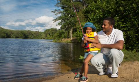 Free Fishing Days at Burke Lake and other Fairfax Waters