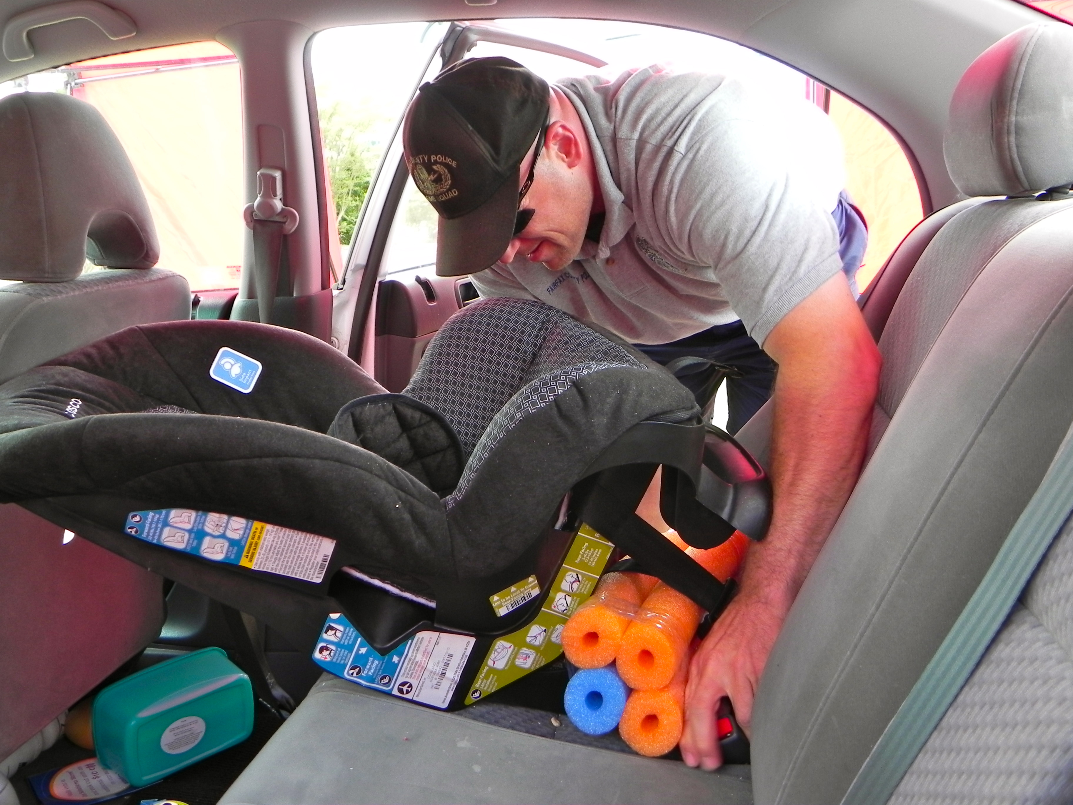 Franconia Station Child Safety Seat Inspections   Police