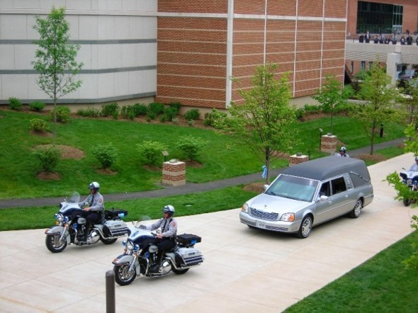 Motorcycle funeral escort in ny
