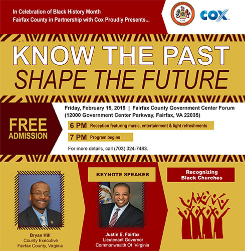 Know the Past, Shape the Future Flyer - Feb. 15, 2019