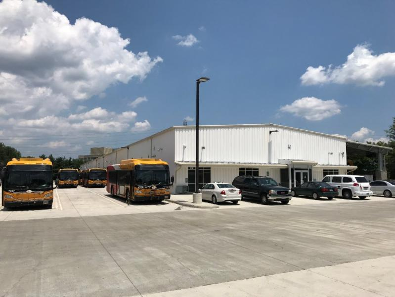 Reston Herndon Fairfax Connector Bus Operations Facility