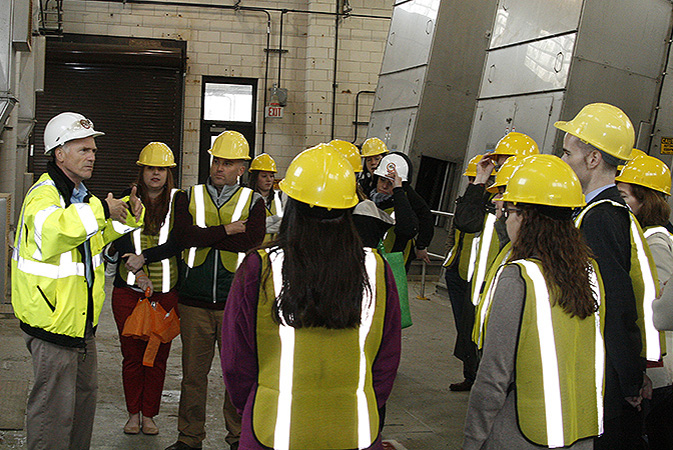 Tour the Wastewater treatment plant