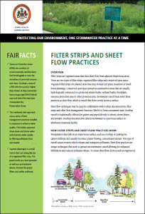 Filter Strips and Sheet Flow Practices cover