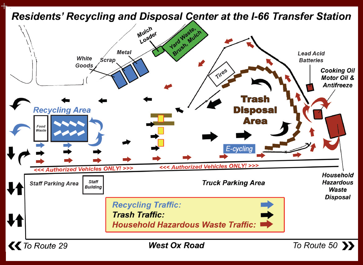 Recycling And Trash Locations And Hours Public Works And