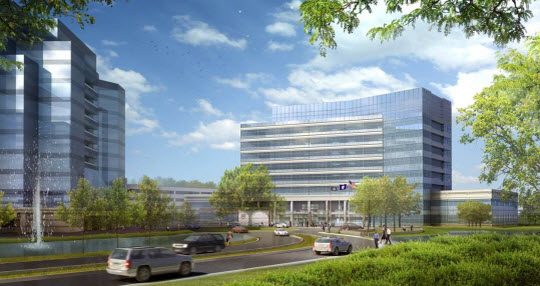 Public Safety Headquarters Project Rendering