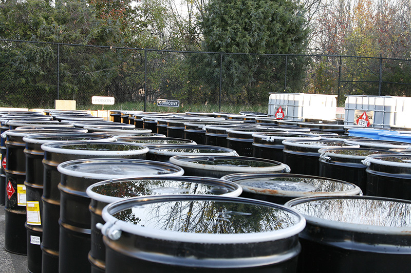 Household Hazardous Waste Drums