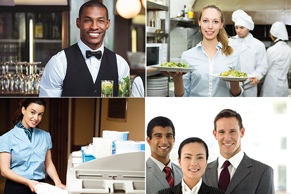 collage of business staff