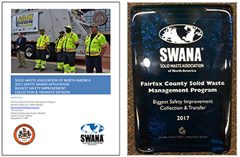 Fairfax County Solid Waste Management Program - Safety Program