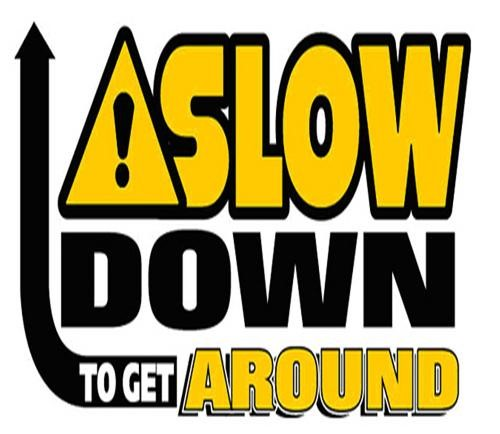 slow down to get around image