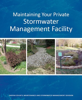 Maintaining Your Private Stormwater Management Facility cover for binder