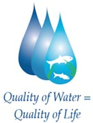 Wastewater Management logo: Quality of Water = Quality of Life