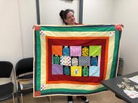 Inmate Andie's quilt