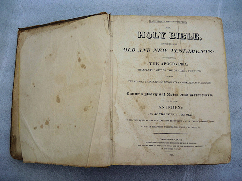Frying Pan Meeting House Bible