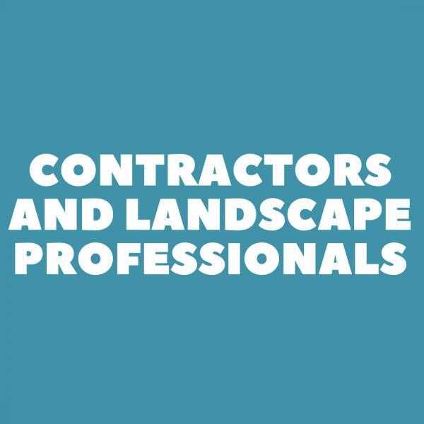 Contractors and Landscape Professsionals