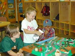 children using watershed model