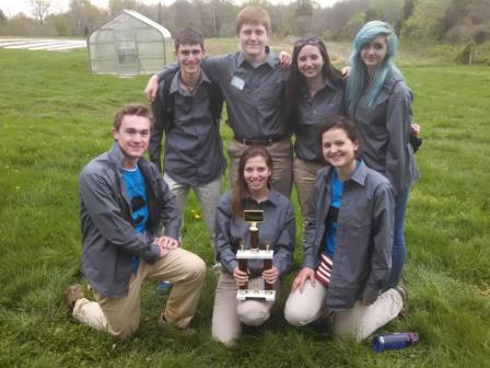 2015 Hidden Pond Envirothon Team